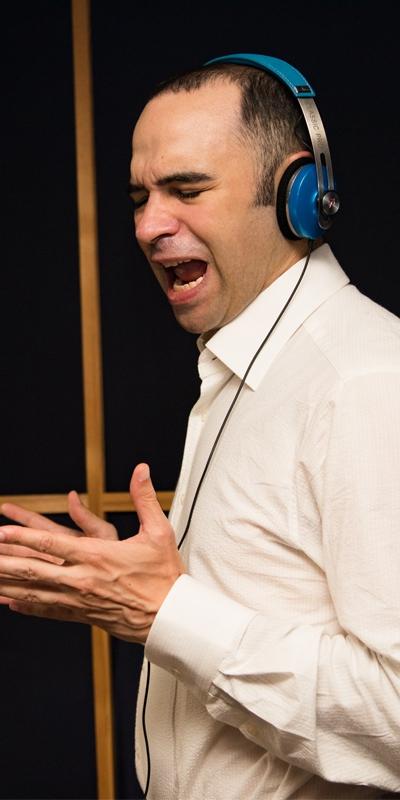 Voice actor crop
